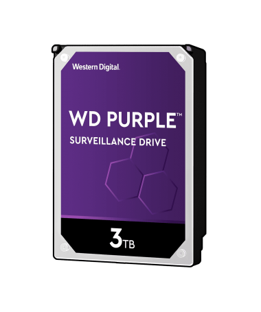 Disque Dur WESTERN DIGITAL 3TB PURPLE WD30PURZ WESTERN DIGITAL - 1
