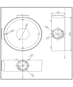 DIMENSIONS DS-1260ZJ